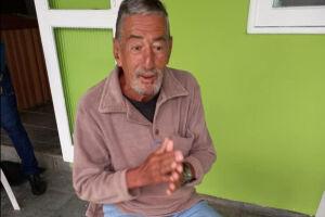 Wilson Bandini em fotografia tirada na véspera de seu desaparecimento