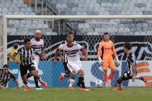 O time comandado por Hernán Crespo perdeu por 1 a 0 para o Atlético-MG, em jogo válido pela terceira rodada, no Mineirão