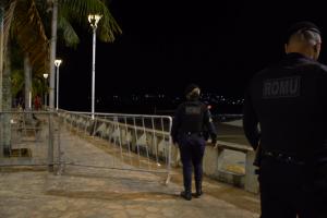 GCM de São Vicente teve trabalho durante o fim de semana para conter aglomerações