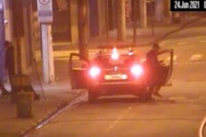 Homem foi preso em flagrante por furto de uma grade de ferro da área de circulação de pedestres do túnel Rubens Ferreira Martins