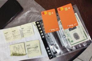 Policiais encontraram inconsistências em documentos de suspeito e efetuaram prisão