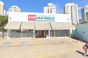 Farmácia foi alvo da ação de criminosos em Santos