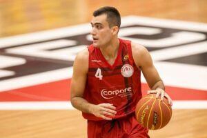 O armador Felipe Ruivo, do Paulistano, vai visitar a escolinha de basquete da High Performance Basketball Academy/Vasco da Gama, de Santos