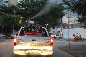 Na semana passada, os agentes da Seção de Controle de Vetores passaram com o fumacê pela Vila Mathias