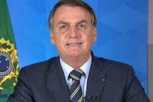 Bolsonaro durante pronunciamento na TV na quarta-feira (2); várias cidades registraram panelaço