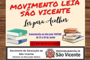 Movimento aborda a importância da leitura desde cedo