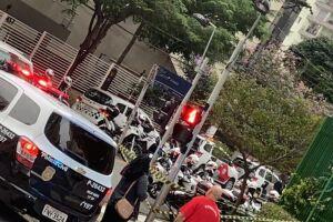 Tiroteio não ocorreu em rua de Santos, e sim em via de São Paulo