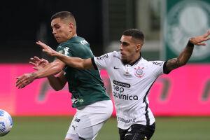 Gabriel fez o gol de empate do Corinthians no Derby