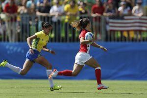 No Brasil, a prática do Rúgbi atraiu público durante as Olimpíadas