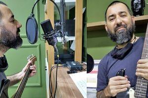 Juliano Siqueira gravou o álbum usando suas horas vagas e quer deixar registro para posteridade de sua família