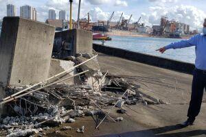 Suman afirma alívio por acidente não ter deixado vítimas e afirma defender túnel submerso