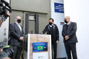 Com a entrega desta segunda-feira, o Butantan chega à marca de 49 milhões de doses fornecidas ao Ministério da Saúde desde 17 de janeiro