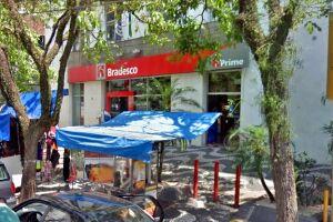 A vítima foi rendida dentro de agência na Avenida Floriano Peixoto, 89