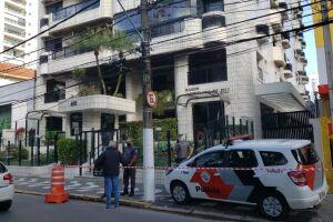 A queda ocorreu em prédio situado na Avenida Washington Luis, 410