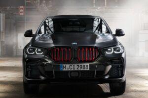 O BMW X6 Black Vermilion tem preço na Alemanha se iniciando em 108.700 euros (R$ 657 mil)