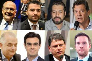 Lideranças que podem concorrer ao Governo de SP em 2022