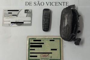 O item eletrônico estava com a mãe de um detento