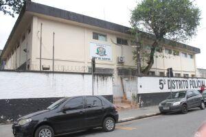 O caso é investigado pelo 5º DP de Santos
