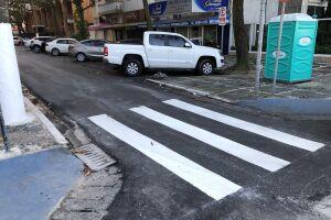 As ruas Cubatão e Petrópolis, na região de Pitangueiras, acabam de ser contempladas com as melhorias