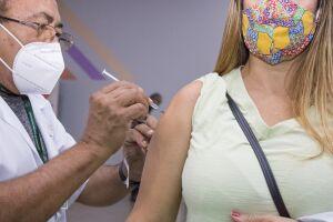 A imunização segue também aos sábados