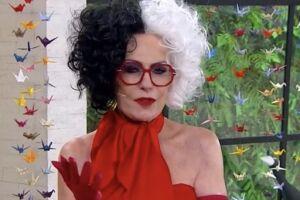 Ana Maria Braga apresenta o 'Mais Você' vestida de Cruella: 'Eu me identifico com ela'