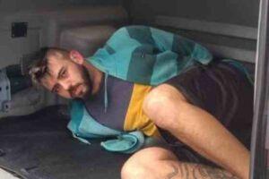 Bruno Freitas foi preso em São Vicente, no litoral sul de São Paulo.