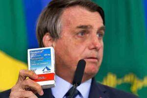 Bolsonaro defendeu o tempo todo remédios ineficazes.