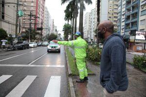 Com programação itinerante pelas vias de Santos, a campanha Faixa Viva está direcionada nesta semana para a Avenida Ana Costa