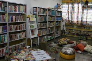 O espaço foi instalado na Escola Municipal Paulo Freire.