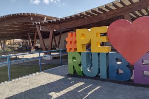 Revitalização da Praça Albano Ferreira, em Peruíbe: obra realizada com recursos do Dadetur