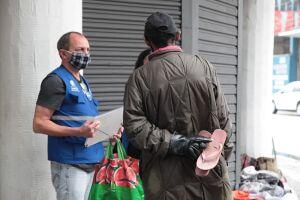 O trabalho das equipes atuantes na Operação Baixas Temperaturas já começou em Santos