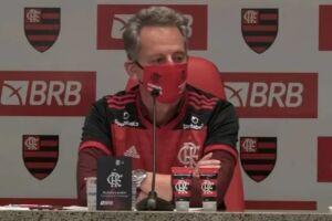 O Ministério Público Federal (MPF) denunciou Rodolfo Landim, presidente do Flamengo, por gestão fraudulenta.