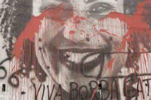 O escadão Marielle Franco, entre as ruas Cristiano Viana e Cardeal Arcoverde, em Pinheiros (zona oeste de São Paulo), foi vandalizado.