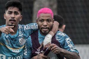 Marinho reforça o Peixe diante do Atlético-GO na Vila Belmiro