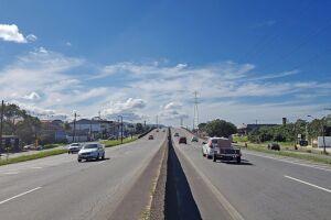 A proposta da Artesp é instalar uma praça de pedágio no km 326,3 da rodovia Padre Manoel da Nóbrega, em Itanhaém