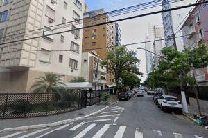 Homem detido morava em prédio localizado na Rua Pindorama, em Santos