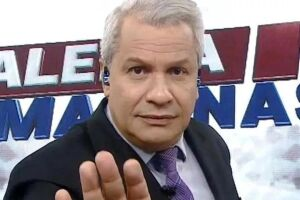 O apresentador do Alerta Nacional (RedeTV!), Sikêra Jr., 55.