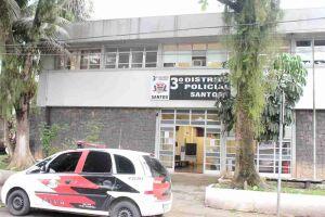 O caso foi registrado no 3º DP de Santos