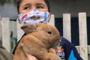De acordo com a diretora da unidade, Valquiria Matos, estudos apontam que o vínculo com um animal de estimação melhora a autoestima do ser humano
