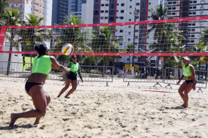 Atletas de Praia Grande retornarão para competições do vôlei de praia
