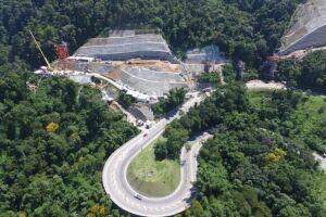 Tamoios: o pacote prevê 46 obras entre pontes e viadutos, além de seis conjuntos de túneis