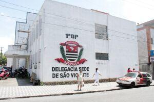 Foragido foi encaminhado ao 1º DP de São Vicente