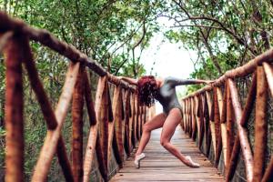 """A participação dos dois bailarinos foi através do projeto """"InCorpora: Corpos de passagem"""""""