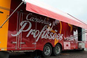Caminhão das profissões do Instituto Mix de Profissões estará na Praça 14 Bis, em Vicente de Carvalho