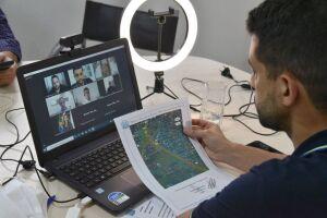 Deputado estadual Caio França (PSB) se reuniu por videoconferência para intermediar reunião