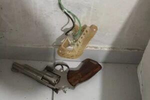 A arma usada no crime foi apreendida
