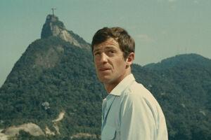 Jean-Paul Belmondo em 'O homem do Rio', de 1964, um de seus melhores filmes