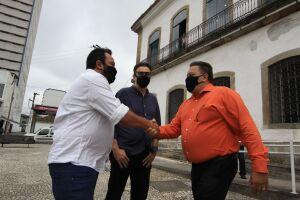 'Desde a primeira vez que estive em Santos, me falaram sobre o edifício da Cadeia Velha, e de como ele era importante para cultura da cidade', diz o Secretário