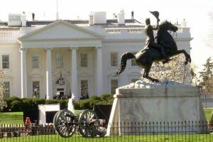 Casa Branca, nos EUA.