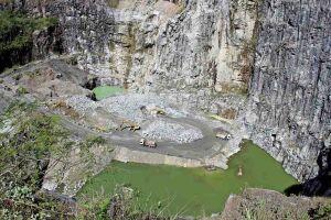 Cava Pedreira terá capacidade de armazenas 3 bilhões de litros de água assim que for implantada, garantindo o abastecimento